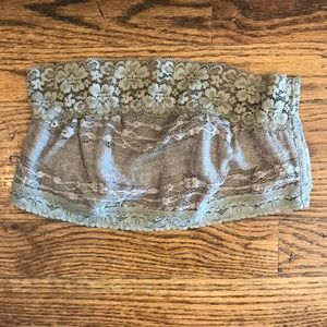 Free People- Trim Bandeau in Taupe